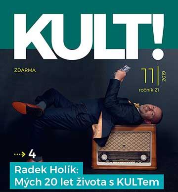 Nový design magazínu KULT!